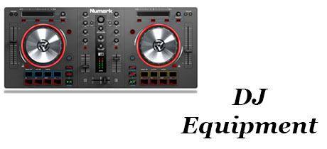 Music Equipment - Banner - DJ Equip