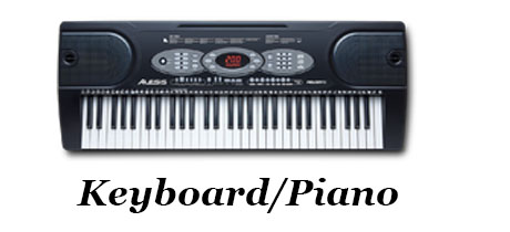 Music Equipment - Banner - Keyboard